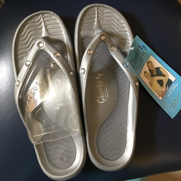 1d2fe2eed Cheeks by Tony Little health sandals NWT size 7